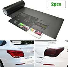 1797 Car Light Tint Film Frosted Taillight Tail Back Turn Signal Black Headlight Fog Light Tinted Vinyl Color Sticker Self Adhesive Shiny Chameleon Accessories Parts 48''x12'' 2pcs