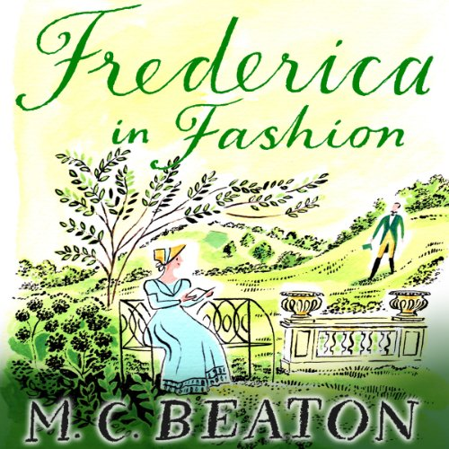 Frederica in Fashion audiobook cover art