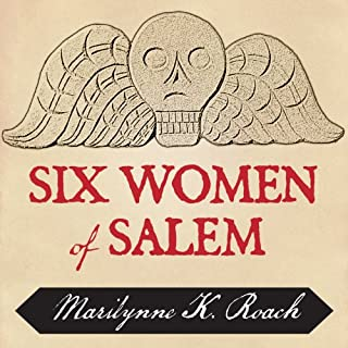Six Women of Salem audiobook cover art