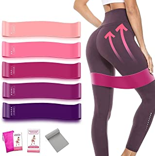 Lazyboo Resistance Bands Set Exercise Bands for Working Out,Home Gym,with Carrying Case,Cooling Towels and Exercise Guide ...