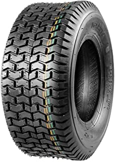 MaxAuto 16x6.50-8 Tires, Turf Saver 16x6.50x8 Lawn Mower Tire Replacement for John Deere Tractor,4PR,DOT Compliant