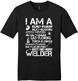 I am a Welder, Badass Welding Gift Young Mens T-Shirt