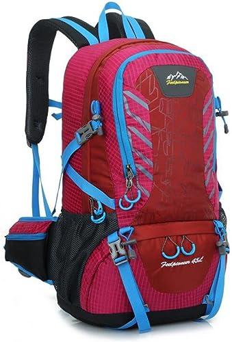 SZH&BEIB Sac à dos de randonnée en plein air sac à dos léger 45L unisexe nylon imperméable pour le vélo de Voyage