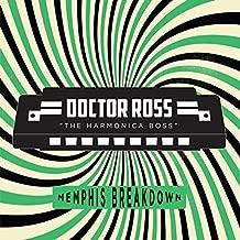 Doctor Ross - Memphis Breakdown Transparent Green Vinyl Exclusive Vinyl LP
