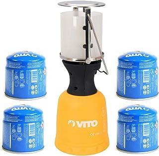 Lanterne de camping Firefly 120P Corps plastique Gaz allumage pi/ézo