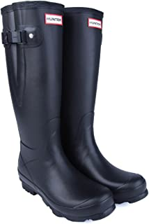 Hunter New Norris Field Ajustable Wellington Boots - Black