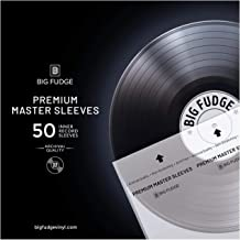 Big Fudge Premium Master Vinyl Record Sleeves – 50x Record Inner Sleeves for..