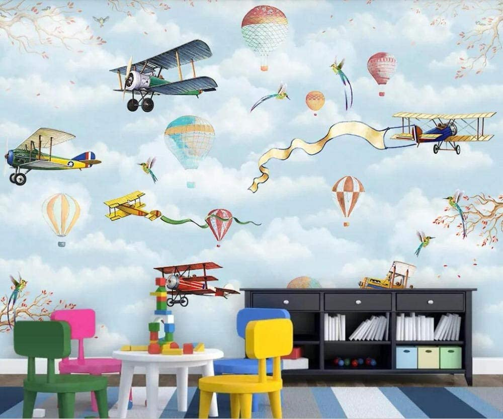 Wallpaper Cartoon hot National products air Aircraft Ranking TOP11 Children Balloon Hand-Painted