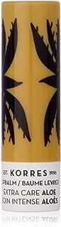 Korres Lip Balm Extra Care Stick - Aloe by Korres for Women - 0.17 oz Lip Balm, 5.1000000000000005 milliliters