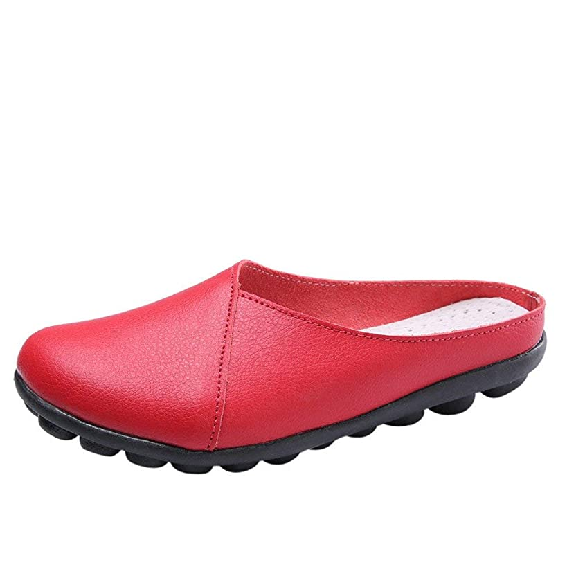 ?QueenBB? Women Casual Peas Shoe,Women Flat Breathable Soft Bottom Wild Leisure Peas Boat Shoes