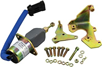 Generic New Fuel Shut Off Solenoid for 94-98 5.9L Dodge Diesel Cummins With Bracket Kits 3931570 5016244AA