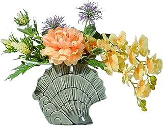 PAKUES-QO Maison Jardin Fleur De Pivoine Artificielle Phalaenopsis Mix and Match Arrangement De Fleurs Art Faux Fleur Bons...