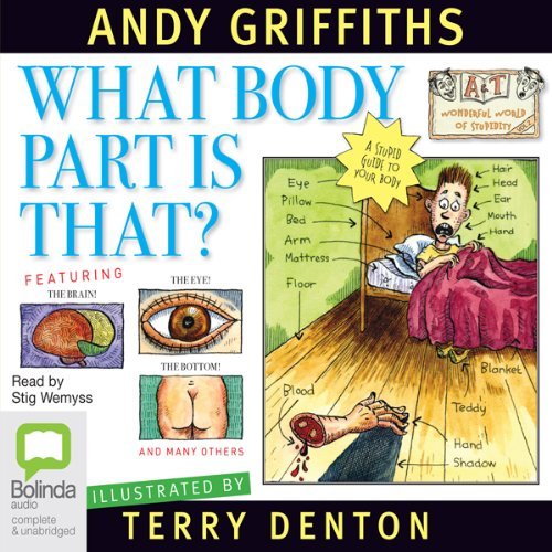 What Body Part Is That? audiobook cover art