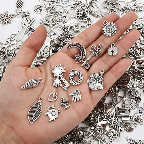 300 Pieces Smooth Tibetan Silver...