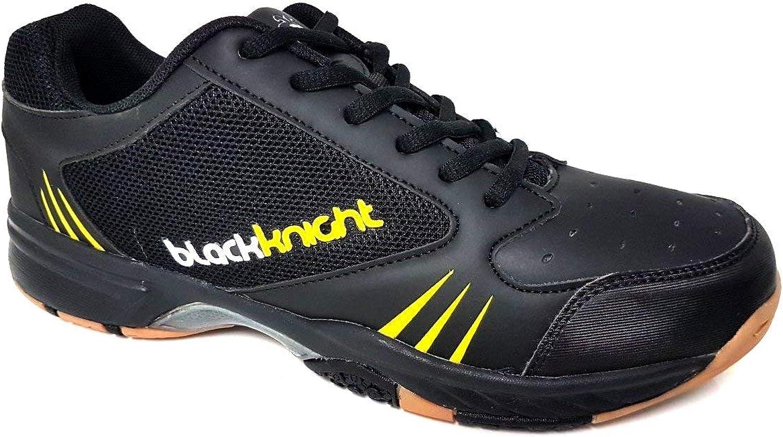 Black Knight Reactor X8 Men's Court shoes bluee Lime-10.0M US (28cm)