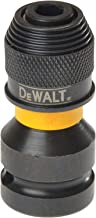Dewalt Extreme Impact adapter do wkrętarki udarowej DT7508 (1/4 cala uchwyt narzędziowy do wkrętarki udarowej 1/2 cala, do...