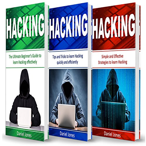 Hacking: 3 Books in 1 audiobook cover art