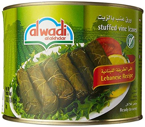 al Wadi alakhdar Gourmet Stuffed Vine Leaves, 4.4 Lbs