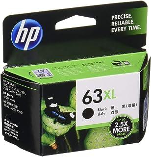 【Amazon.co.jp 限定】HP 63XL インクカートリッジ 黒(増量)