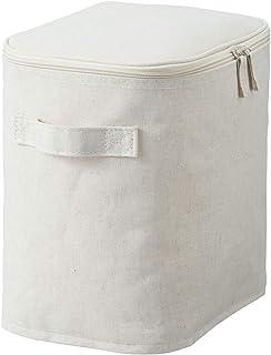 Muji Linen Storage Bag, cotton, Beige, Medium