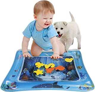 Baby Water Mat Inflatable Tummy Time Baby Toys 6-12 Months Infants Toddlers Fun Play Time Mat Stimulation Growth
