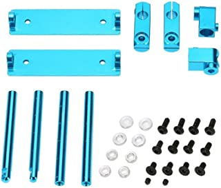 RC car Aluminum Magnetism Stealth Body Post Mount Invisible Shell Column 2 Colors Blue