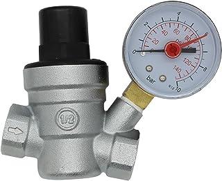 Regulador de presi/ón de aire Reductor de presi/ón con man/ómetro para compresor de aire V/álvula reguladora de presi/ón Regulador de presi/ón del filtro de aire Regulador de alivio de presi/ón