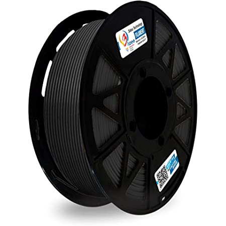 3Idea Premium PLA 1.75mm 3D Printer Filament, Dimensional Accuracy +/- 0.03mm (Black, 1 kg)