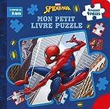 SPIDER-MAN - Mon Petit Livre Puzzle - 5 Puzzles 9 Pièces - MARVEL (Mon Petit Livre puzzle (9P))