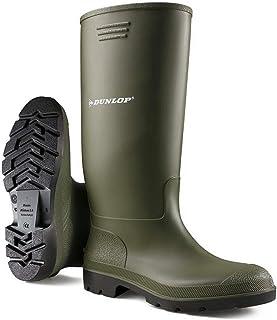 Bottes en caoutchouc unisexes pour femme et homme - Entièrement imperméables - Pour la neige, la pluie, la boue - Pour ext...