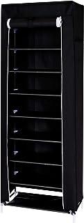 dibea Armoire de rangement penderie armoire pliable en tissu 160x60x30 cm couleurs différentes