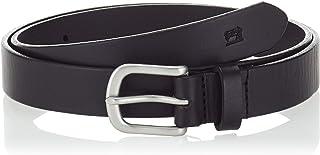 Scotch & Soda AMS Blauw Classic Leather Belt Cinturón para Hombre