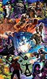 Komar - Marvel - Vlies Fototapete GUARDIANS OF THE GALAXY COLLAGE - 120 x 200 cm, Tapete, Wand Dekoration - VD-016