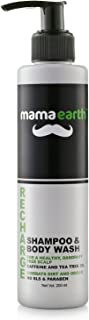 Mamaearth Recharge Energizing Shampoo and Bodywash for men with Caffeine and Menthol
