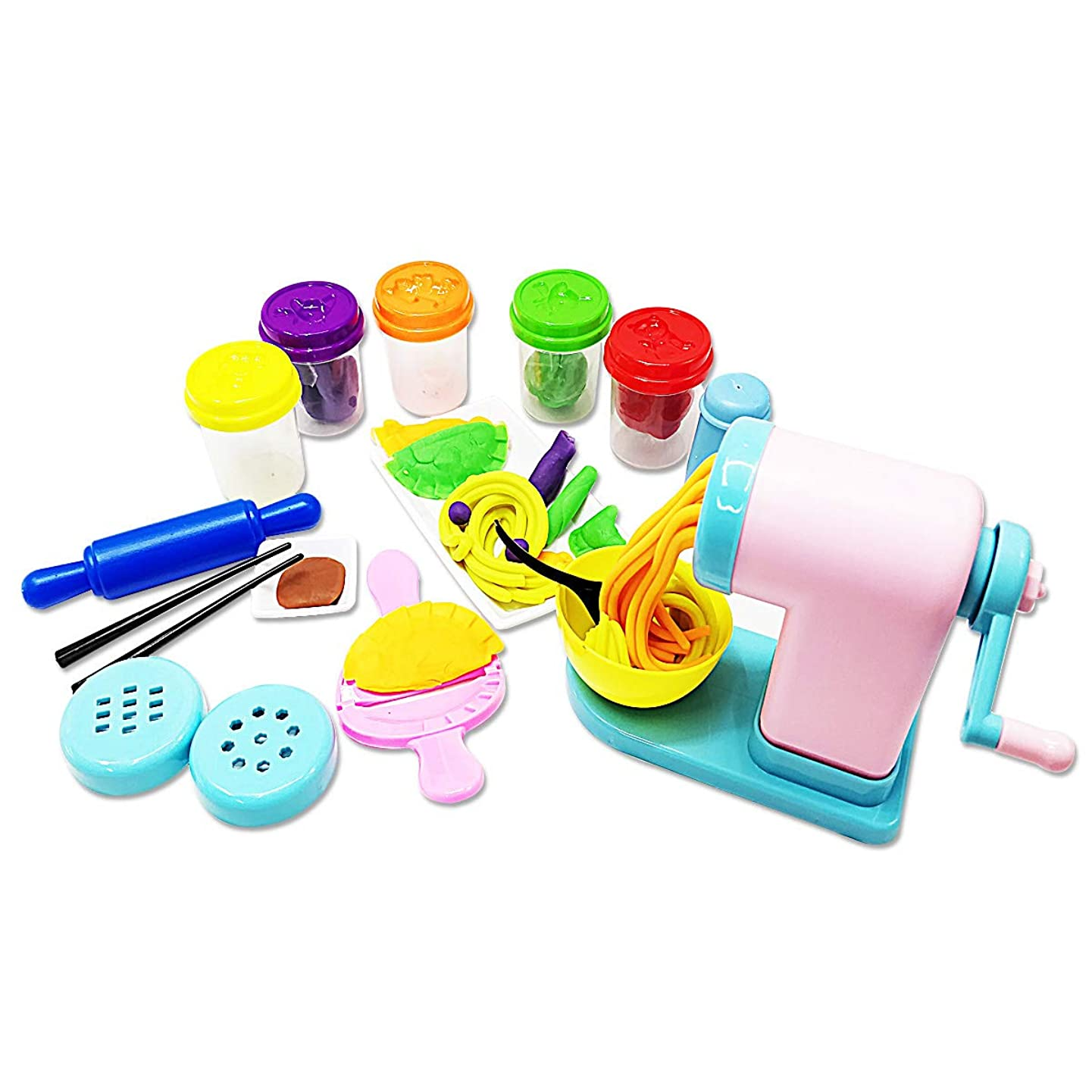 FUNFINDING DIY Air Dry Clay Modeling Clay Crafts Kit for Children Ceative Super Light Nontoxic Educational Clay Toy