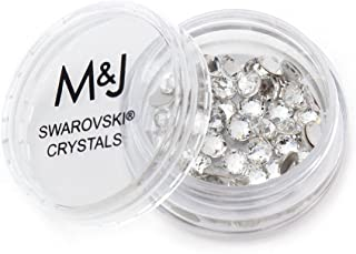 Swarovski Crystals Flat Back Rhinestones - 2088 Xirius Rose Round Foil Backed - SS16 (3.8mm-4mm) - Crystal 001 (Clear)