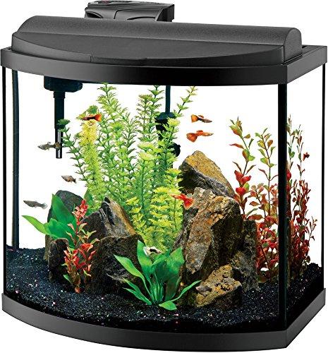 Aqueon Deluxe LED Bow Front kits, Aquarium, Size 16