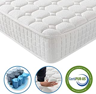 Vesgantti 9.4 Inch Multilayer Hybrid Twin Mattress - Multiple Sizes & Styles Available, Ergonomic Design