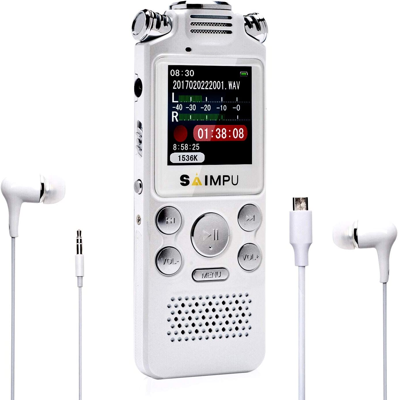 Voice Recorder-16GB Activated Recorder Speed Max 72% OFF Some reservation Variable with