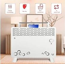 Calefactor Eléctrico Calefactor Convector con 2 Ajustes de Calor, Termostato Regulable con Regulador de Potencia para un bajo consumo,Calefactor de Aire Caliente Apto Apto para varios lu