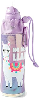 Justice for Girls No Llama Drama Sleeved Water Bottle