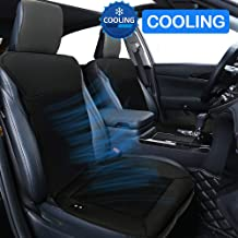 Big Ant Cooling Car Seat Cushion, 12V Seat Covers Automotive Universal Fit Full Size Seat Cushion Ventilate Breathable Air Flow with Holes for Driver Seat, Vehicle Front and Back Seats in Hot Summer