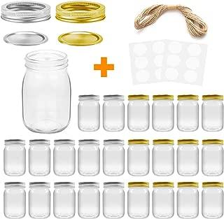 Best 16 oz mason jars bulk Reviews