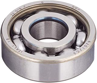 10Pcs 6201-RS Cuscinetti radiali a sfere in acciaio per motori strumentazione riduttori 12mm ID X 32mm OD