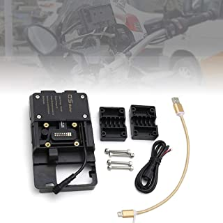 GoolRC Acessórios do suporte da navegação do telefone móvel com o carregador de USB para BMW R1200GS LC & aventura S1000XR...
