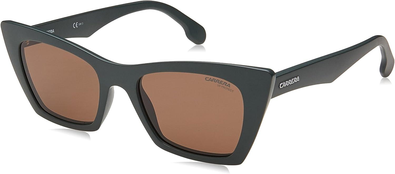 Carrera Women's 5044 s Cateye Sunglasses MTGRN MIL 50 mm