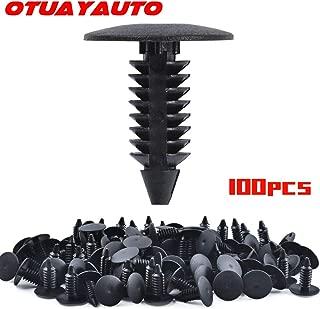 OTUAYAUTO 100PCS Plastic Fasteners Clip, for Jeep Liberty 02-13, Dodge Durango 98-15, Chrysler 200 11-14, Nylon Rivets