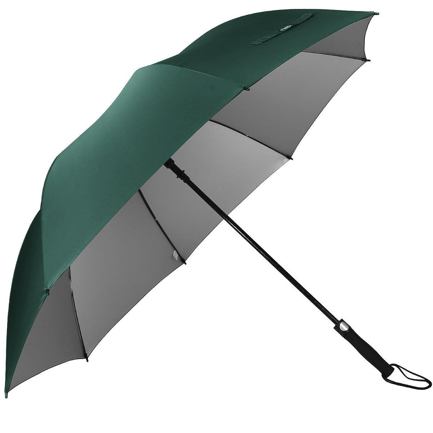 迷信経歴安西G4Free 傘 長傘 メンズ ワンタッチ 高強度グラスファイバー8本骨 直径130cm Teflon加工 シルバーコーティング 防風 丈夫 おしゃれ 軽量 大型 撥水加工 梅雨対策 収納ポーチ付き