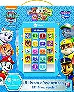 Coffret La Pat'Patrouille - 8 livres d'aventures et le meReader de Nickelodeon