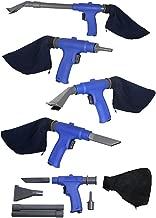 Air Vacuum Blow Gun Kit, Includes 6 Specialty Attachments